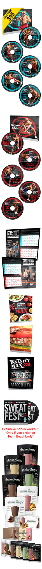 Insanity Max 30 Contents