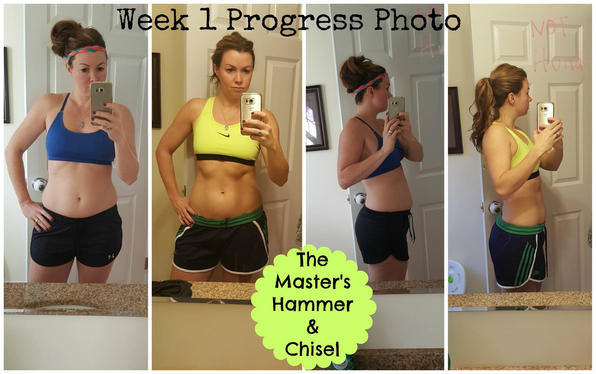 Master's Hammer & Chisel – Week 1 Results!