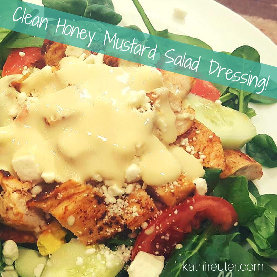 Clean & Simple Honey Mustard Salad Dressing