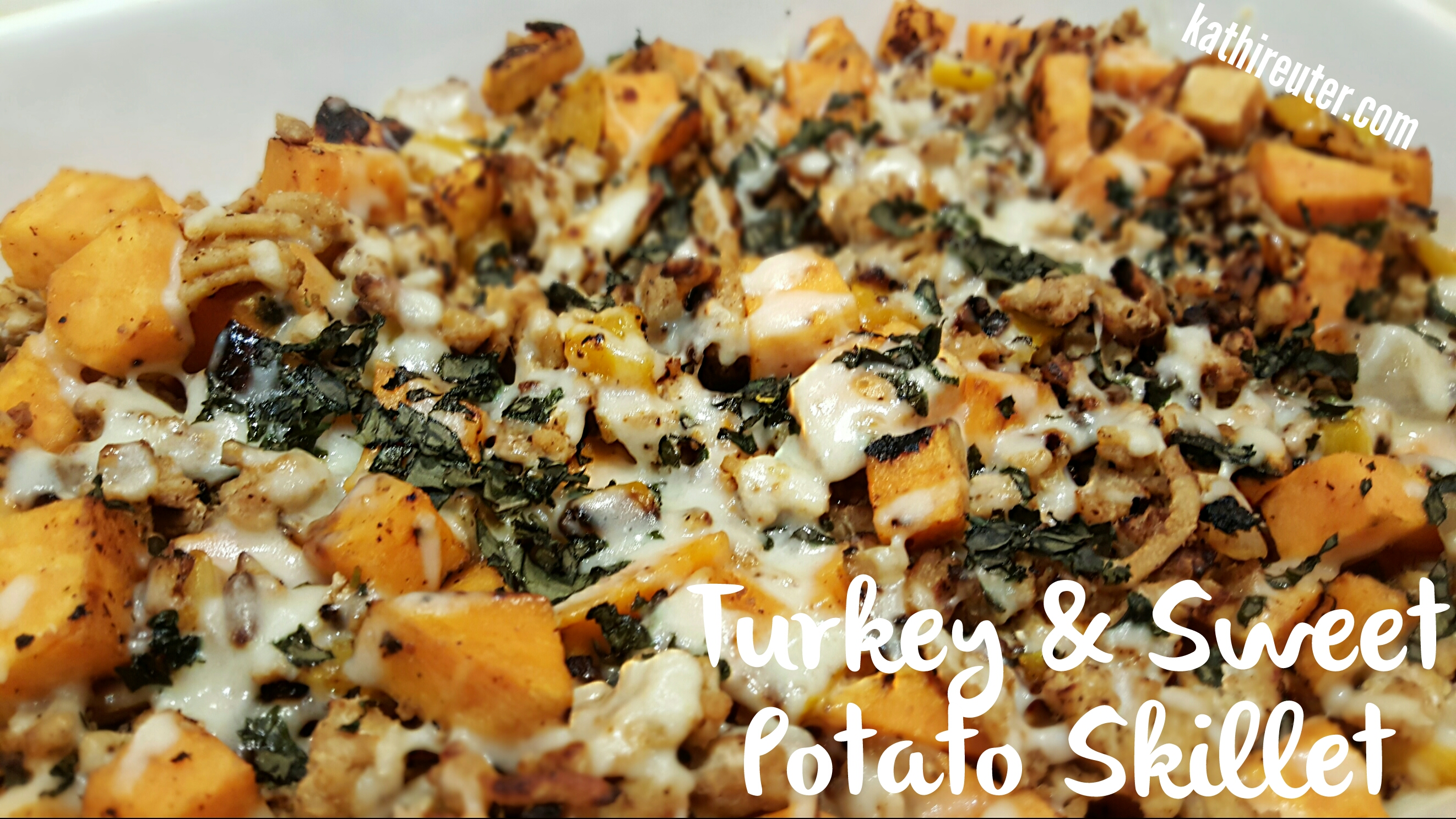 Healthy Turkey & Sweet Potato Skillet | Clean Eating Dinners