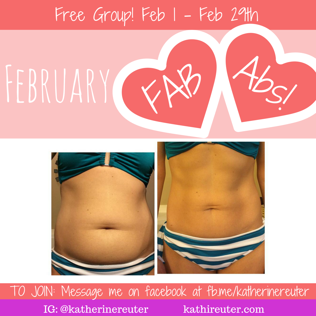 Join our Free February FAB Abs Challenge!