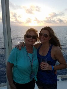 mother and daughter oasis of the seas