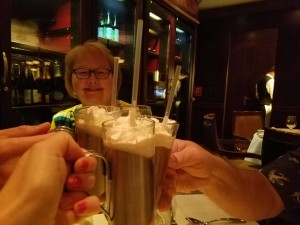 dinner with parents at chops steakhouse oasis of the seas