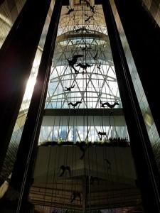 oasis of the seas elevator lobby