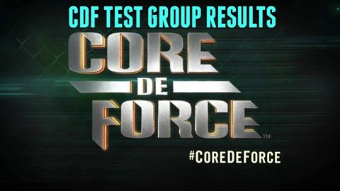 Core De Force, MMA Program – Progress & Result Pictures from the Test Group!