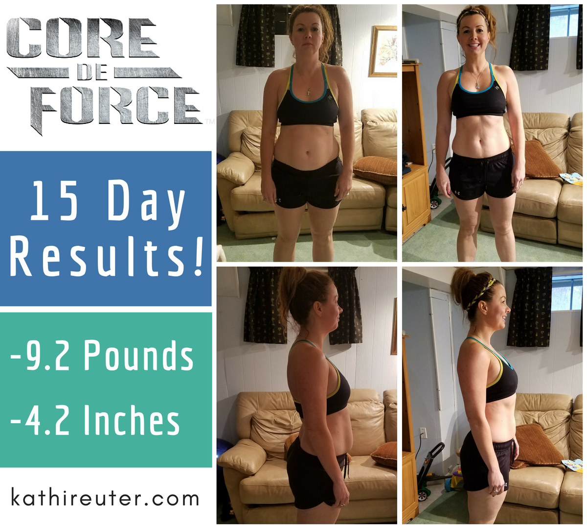 Core De Force Half Way Point! – 2 Week Review & Progress