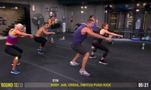 core de force mma power body jab cross switch push kick