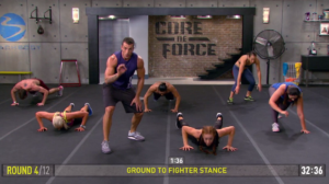 core de force mma power ground to fighter stance