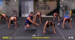 core de force mma power spiderman climbers