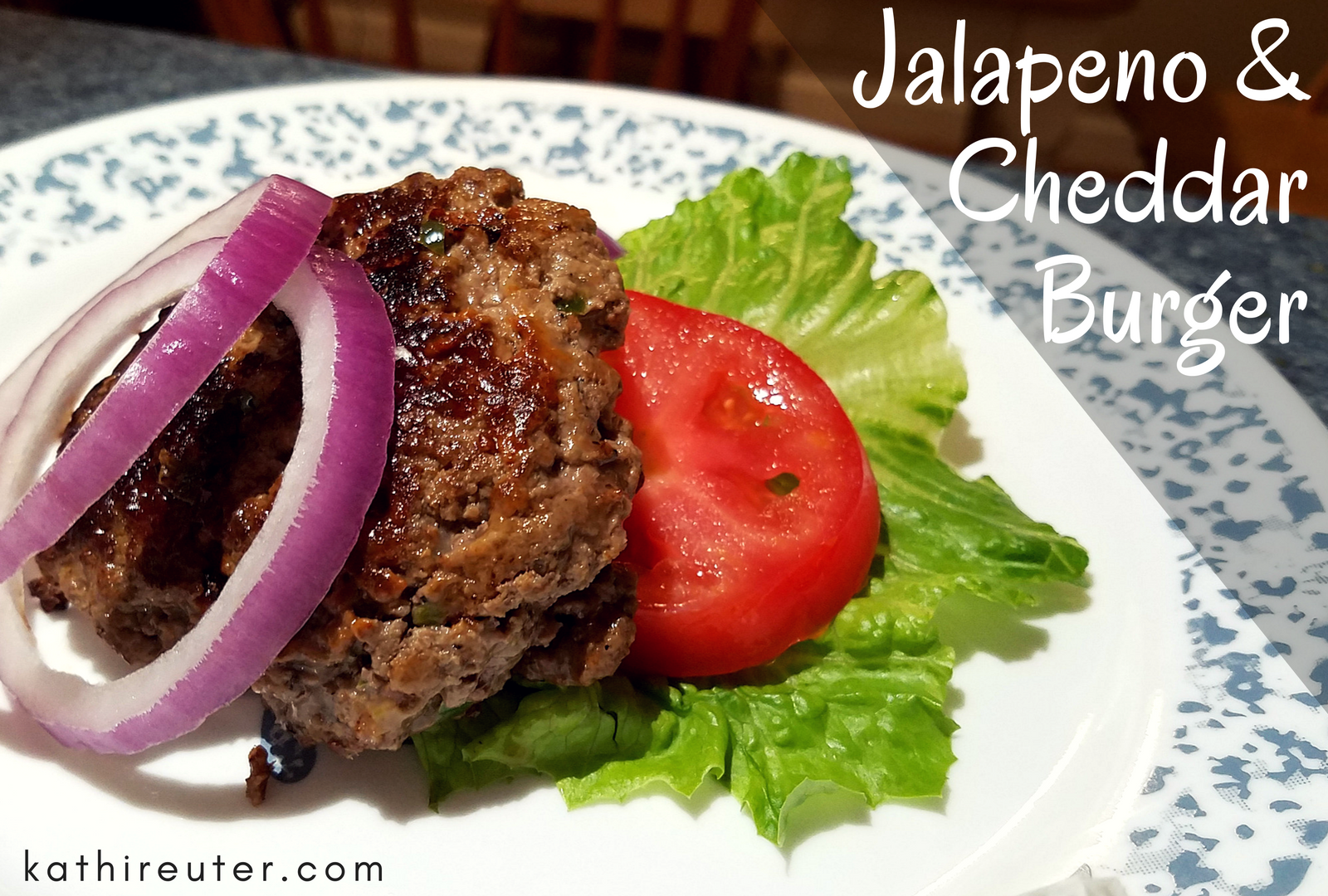 Jalapeno and Cheddar Cheese Burgers with Lettuce Bun | Clean Eating Recipes