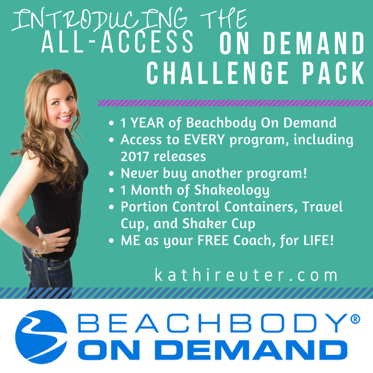 The New All-Access Challenge Pack – Access to Every Beachbody Program!