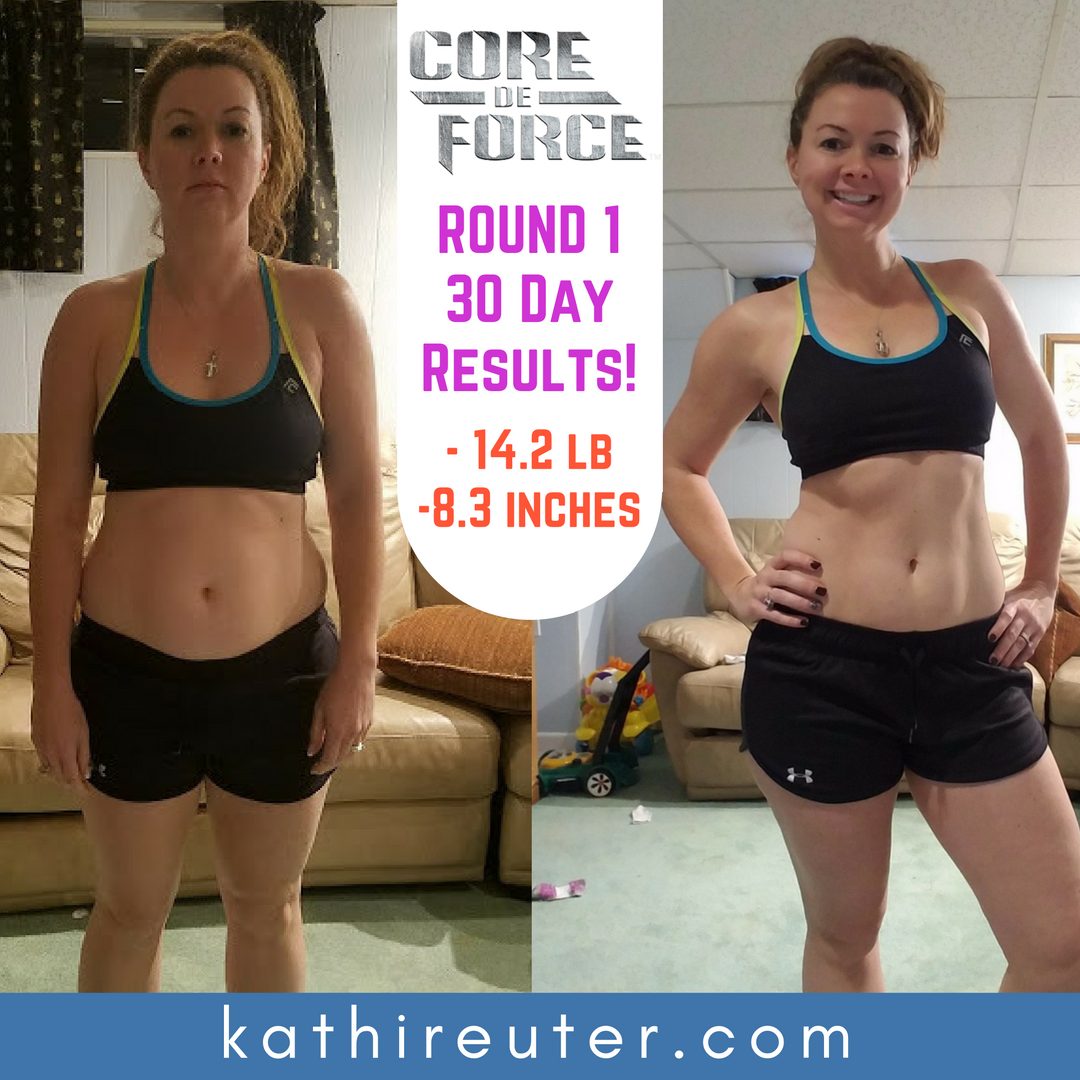 My Core De Force 30 Day Results with Pictures!