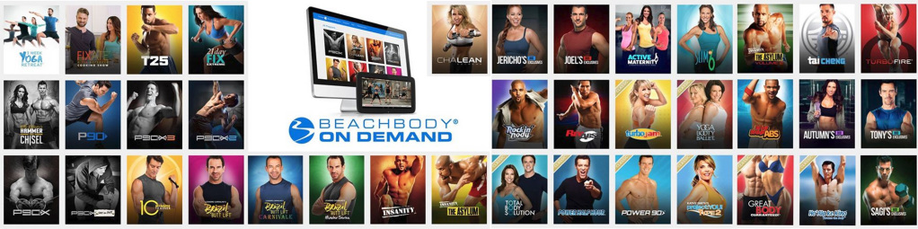 workouts included with beachbody on demand
