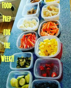 buffet style meal prep