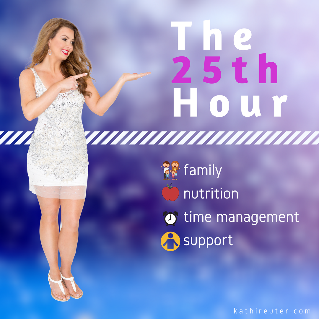 Introducing The 25th Hour – A New, Free Community to help Busy People Regain Control!